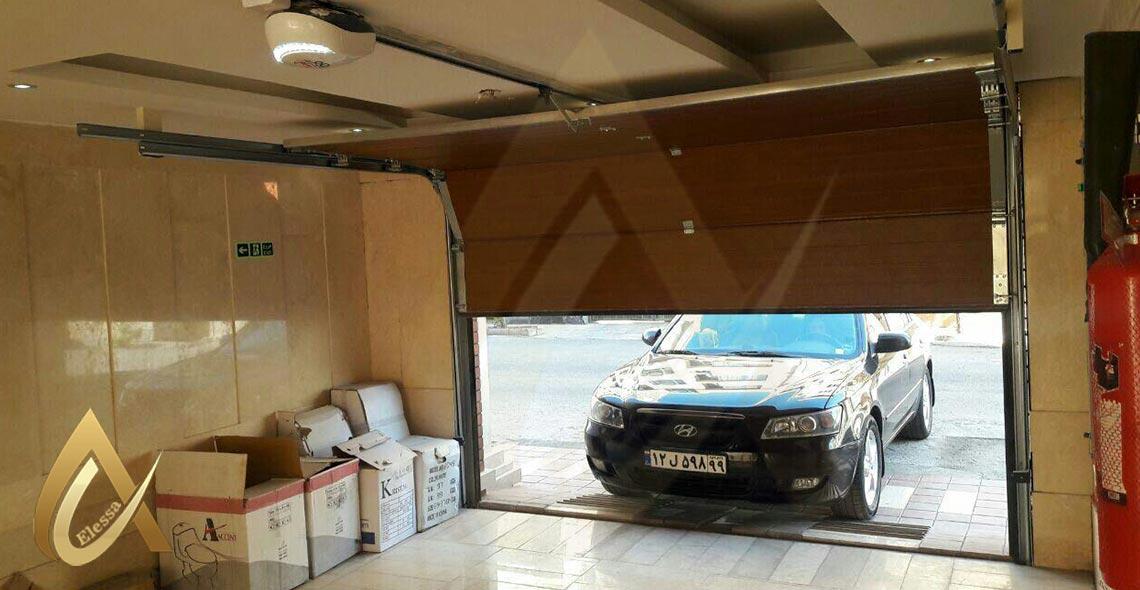 درب اتوماتیک پارکینگ زیر سقفی