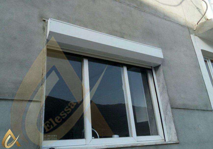 کرکره پنجره آلومینیومی شرکت السا