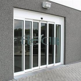 تعمیر درب شیشه ای برقی