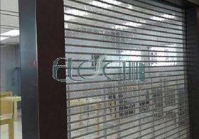 کرکره پلی کربنات شفاف در بالکن