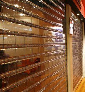 انواع کرکره برقی شفاف پلی کربنات