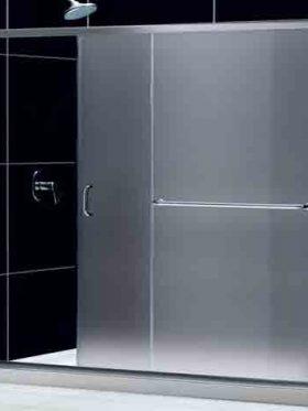 درب شیشه ای حمام | درب شیشه ای سرویس بهداشتی