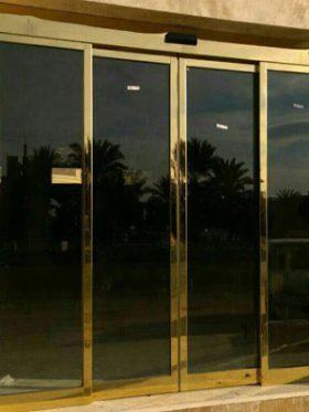 درب شیشه ای ریلی