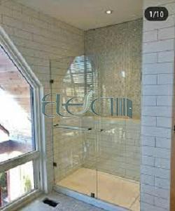 درب شیشه ای حمام